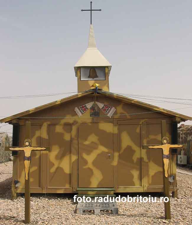 Biserica campanie Irak